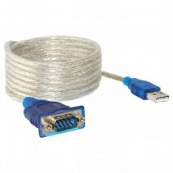 6 feet USB to RS-232 DB9...