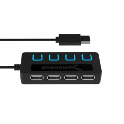 4-Port USB 2.0 Hub With...